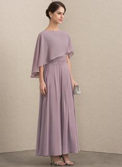 mauve wrap dress long