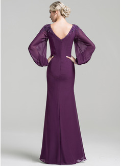 long sleeve sparkle evening dresses