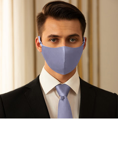 Men's Non-Medical Satin Reusable Face Masks With Adjustable Loop