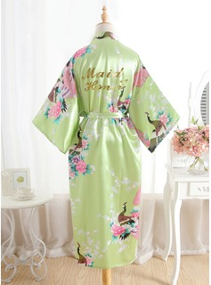 bridesmaid robes satin