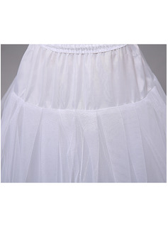petticoat under a-line wedding dress