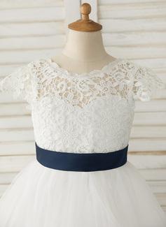 blush lace dress girls