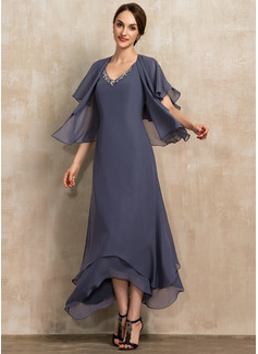long sleeve glitter wrap dress