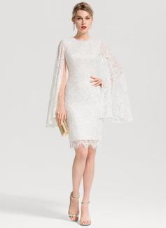 white dress long sleeve lace
