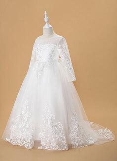 wedding dress on the shoulder