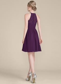 cap sleeved bridesmaid dress