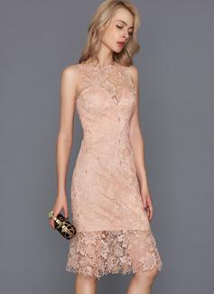 red evening prom dress