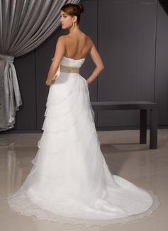 flower wedding dress belt