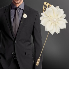 Classic Satin Boutonniere (Sold in a single piece) -