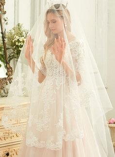 low plunging back wedding dress