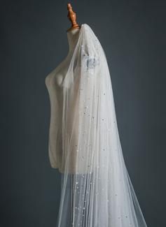 ruched trumpet wedding dress