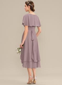 one strap long dress