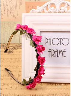 Paper With Flower Headbands
