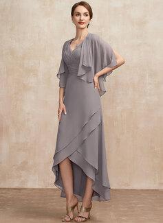 twist wrap dress short