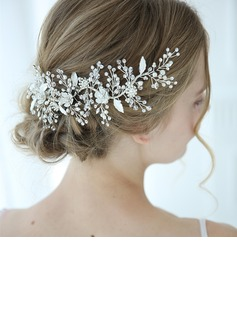 Classic Alloy Hairpins With Rhinestone/Venetian Pearl/Crystal (Sold in single piece)