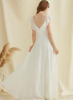 long white dress lace