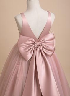 simple long pink dress