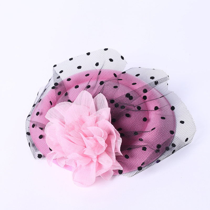 Damene ' Elegant Silke blomst/Tyll Fascinators/Tea Party Hats