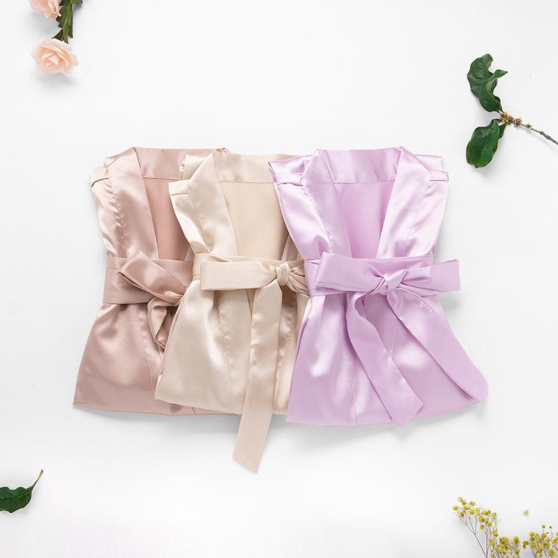 Bridesmaid Gifts - Elegant Charmeuse Robe