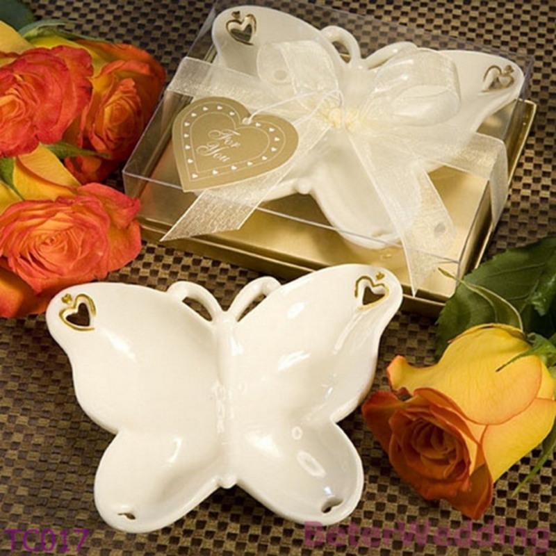 Butterfly Keramikk med Bånd (Selges i ett stykke)