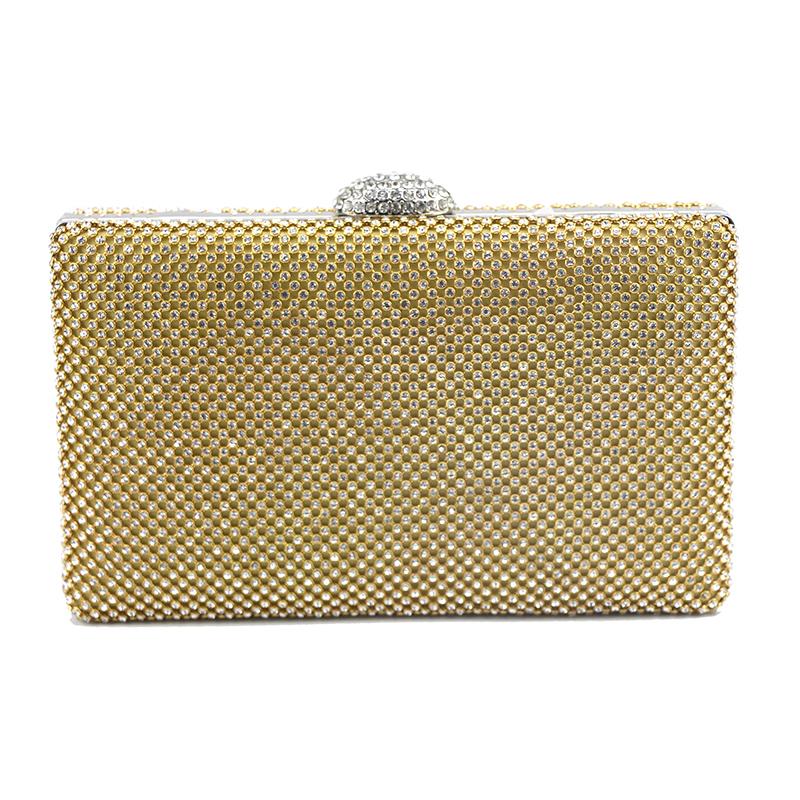 Elegant/Nydelig/Unik/Lyse/Pillow bag Krystall / Rhinestone/Tyll/PU Koblinger/Kveldssekker