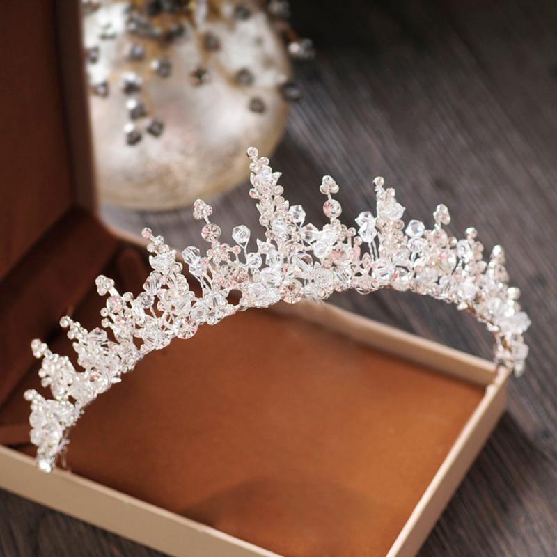 Damer Vakkert Crystal/Rhinestone/Legering Tiaraer med Crystal