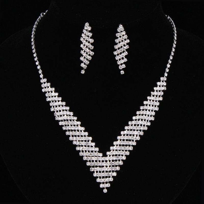 fasjonable Legering/Rhinestones Damene ' Smykker Sett