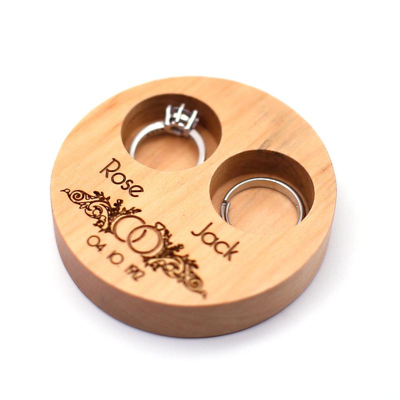 Groom Gaver - Personlig Tre Ring Boks