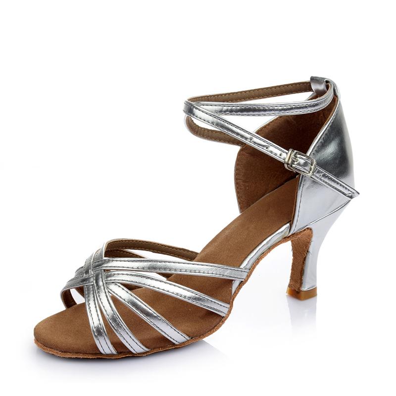 Women's Leatherette Sandals Latin Dance Shoes