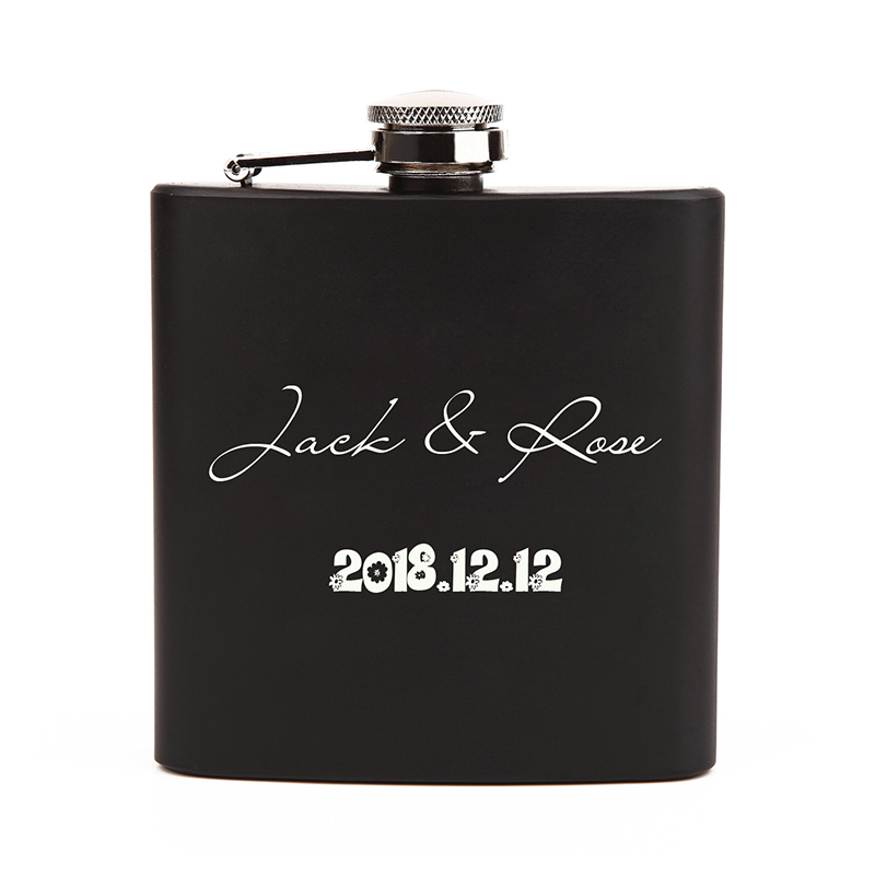 Groom Gaver - Personlig Klassisk Stil Rustfritt Stål Flask