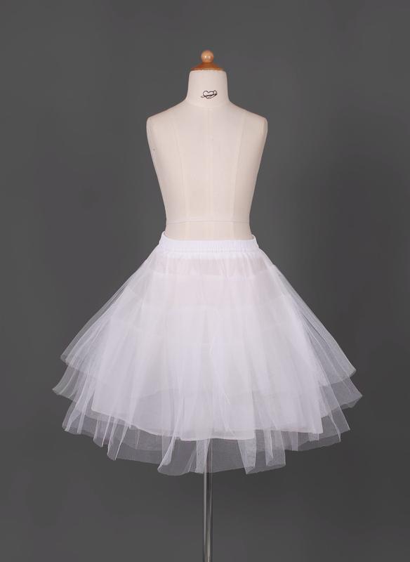 Tulle/Taffeta Full Gown Slip