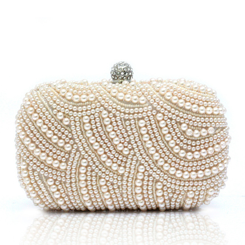 Gorgeous Satin/Pearl Clutches/Satchel