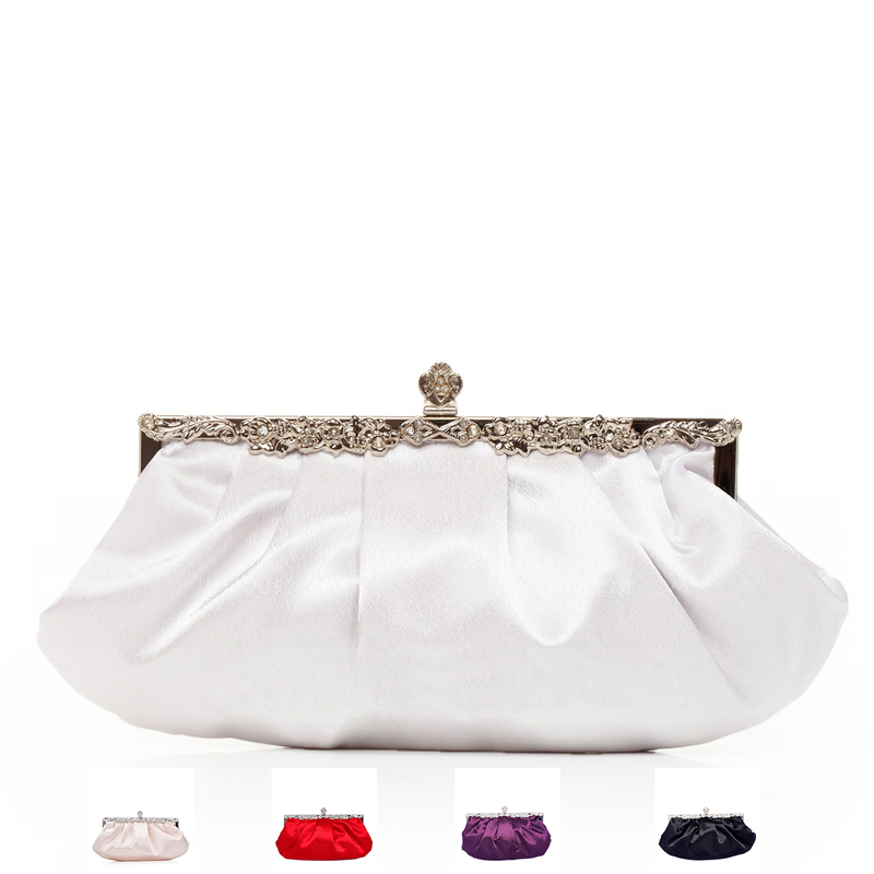 Gorgeous Silk Clutches/Bridal Purse/Evening Bags