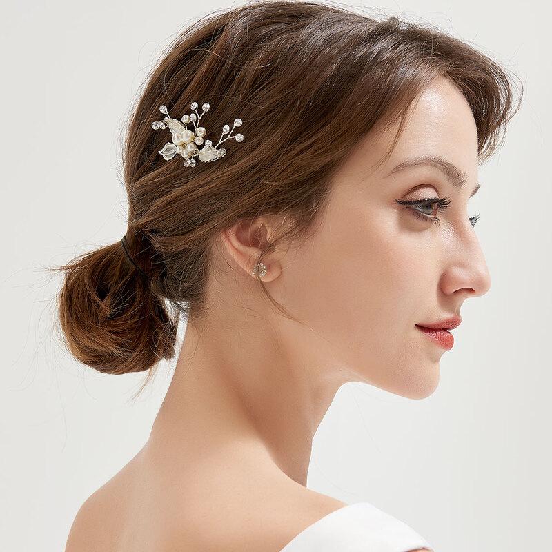 Damer Glamorøse Legering Hårnåler med Venetianske Perle
