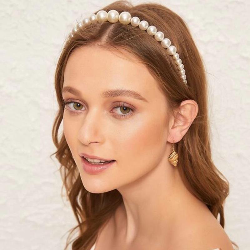 Elegant Perler Tiaraer