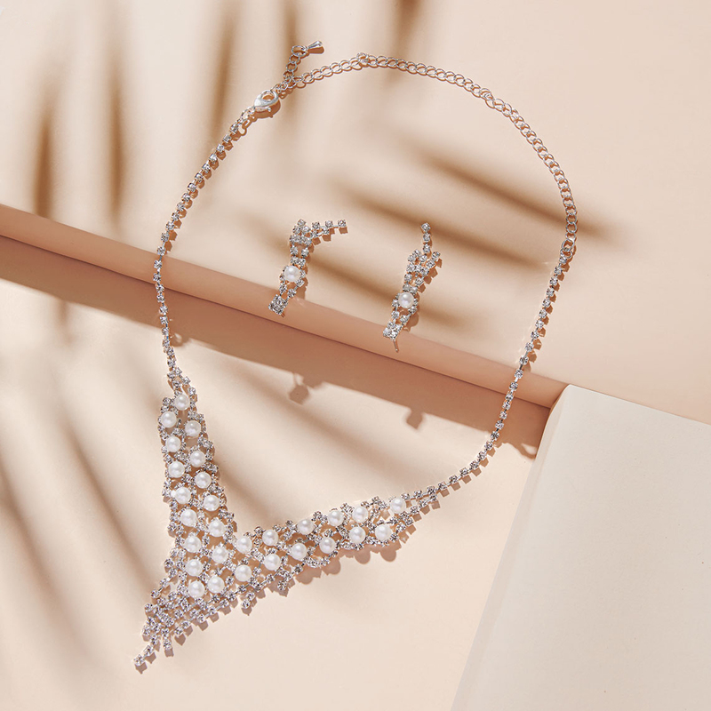 Nice Alloy/Copper With Rhinestone Ladies' Jewelry Sets