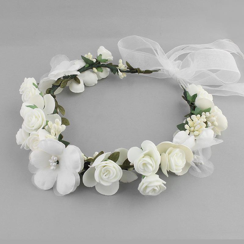 Lovely Silk Flower Headbands (Sold in single piece)
