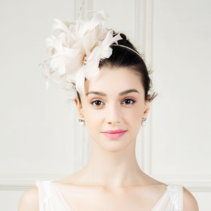 Ladies' Lovely Feather With Feather Fascinators/Kentucky Derby Hats/Tea Party Hats