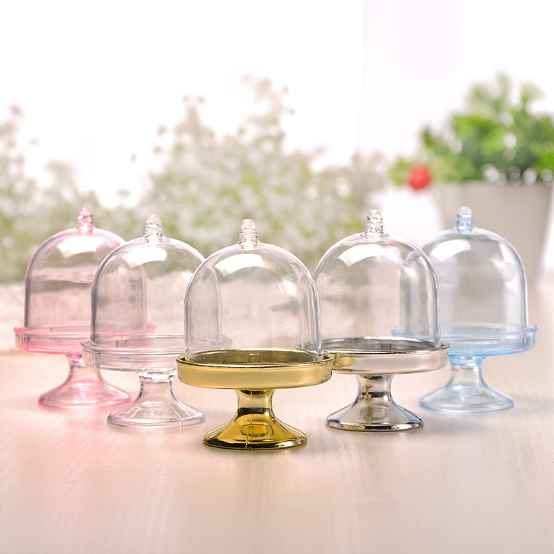 Other Plastic Favor Boxes & Containers/Candy Jars and Bottles (Set of 12)