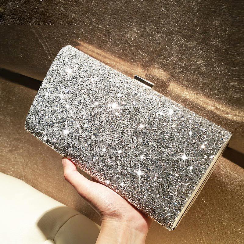 Shining Crystal/ Rhinestone/Sparkling Glitter Clutches
