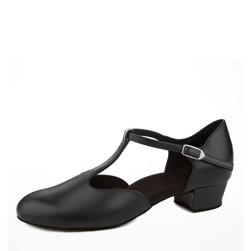 Kvinner Egte Lær Flate sko Ballrom Dansesko
