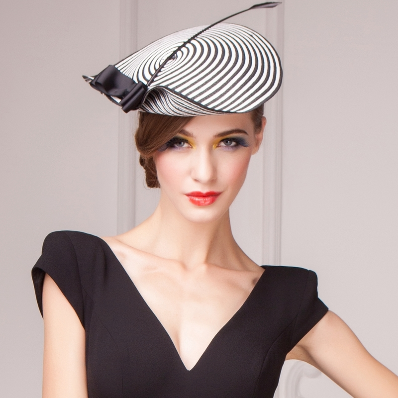 Fashion/Elegant Papyrus Fascinators/Kentucky Derby Hats/Tea Party Hats