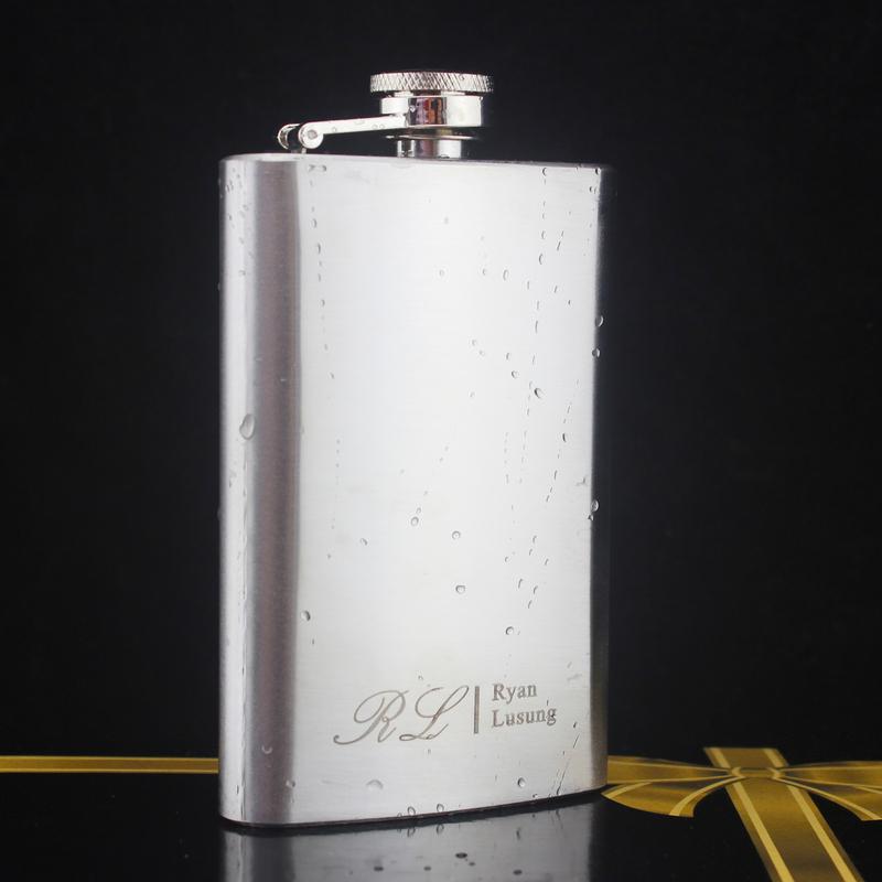 Groomsmen Gaver - Personlig Klassisk Stil Rustfritt Stål Flask