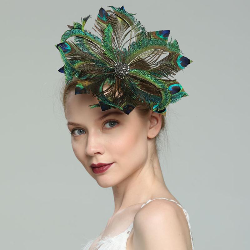 Damene ' Glamorøse/Elegant/Jobb Fjær med Fjær Fascinators/Kentucky Derby Hatter