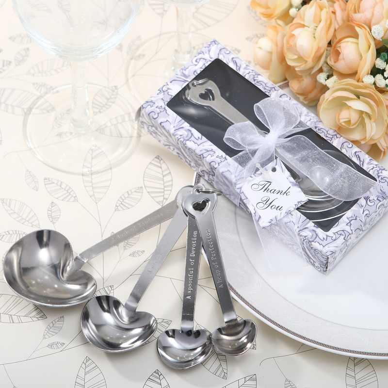 Hjerteformede Zinc Aluminiums Skjeen Set