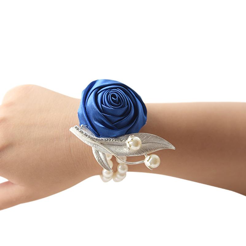 Satin Wrist Corsage -