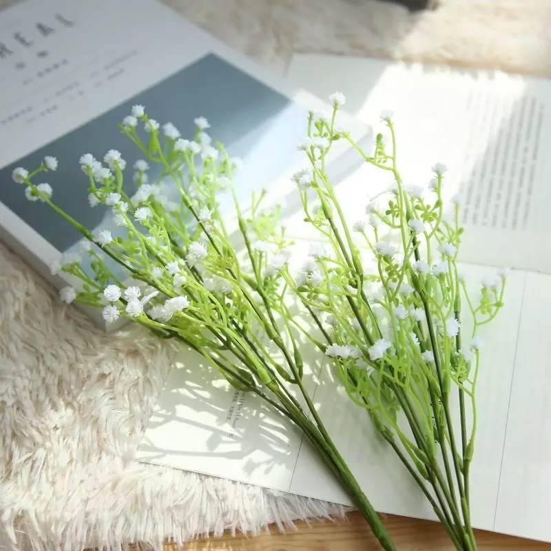 Simple Free-Form Silk Flower Decorations/Wedding Table Flowers -