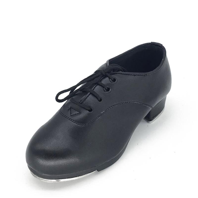 Unisex Leatherette Tap Dance Shoes
