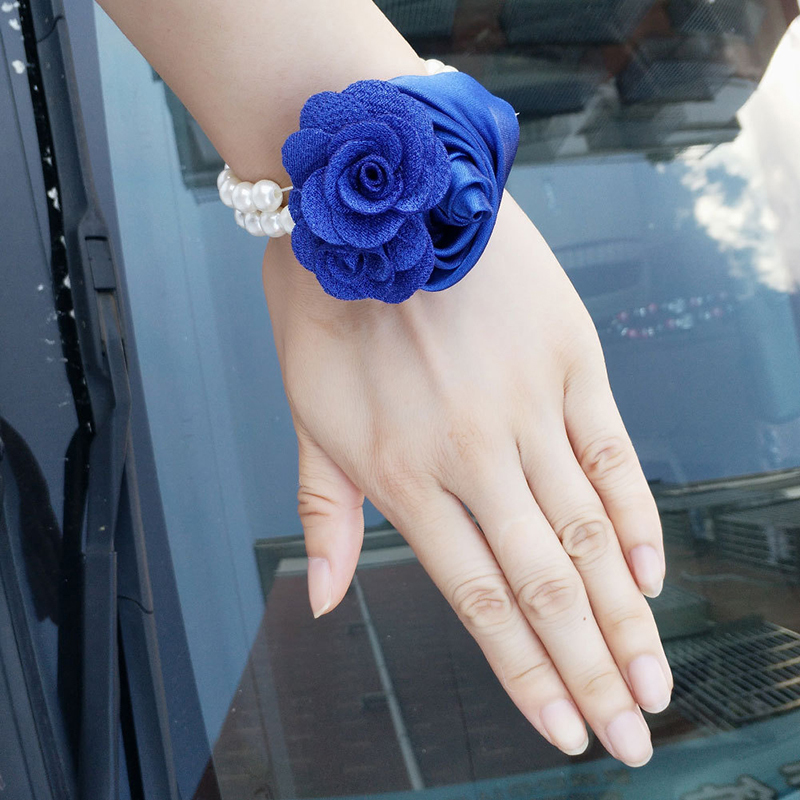 Cotton Wrist Corsage (Sold in a single piece) -