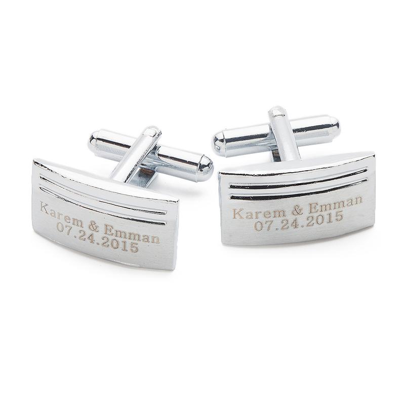 Groom Gifts - Personalized Elegant Alloy Cufflinks